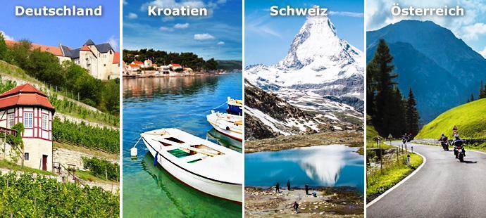 Urlaub in Deutschland, Urlaub in Kroatien, Urlaub in derSchweiz, Urlaub in Österreich, Gastgeber Verbund, Verzeichnis24,